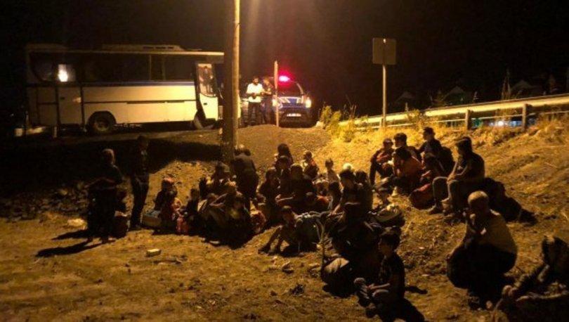 Balıkesir'de 44 kaçak göçmen yakalandı
