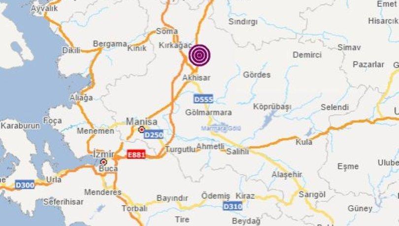 SON DAKİKA: Manisa'da 5.4 korkutan deprem! İstanbul, Bursa, İzmir ve Balıkesir'de hissedildi