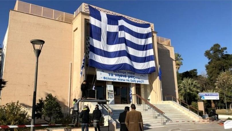 Yunan adalarında göçmen karşıtı protestolar: 'Adalarımız cezaevi değil, bütün kamplar kapatılsın'