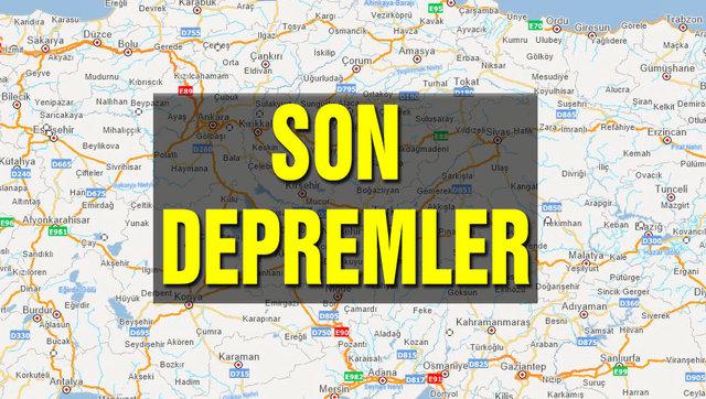 Son depremler 23 Ocak! AFAD ve Kandilli Rasathanesi deprem son dakika 2020! Deprem mi oldu Türkiye