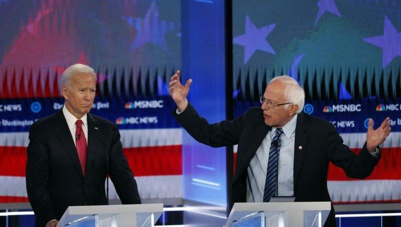 ABD'de son anket: Sanders rakibi Biden'ı geçti