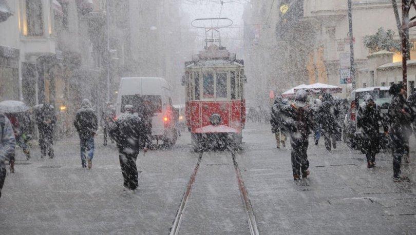 İstanbul'a kar ne zaman yağacak? 23 Ocak 2020 Perşembe İstanbul hava durumu