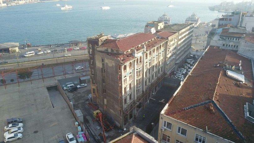 Tarihi Liman Han'a izin çıktı! Restorasyon çalışmaları başladı