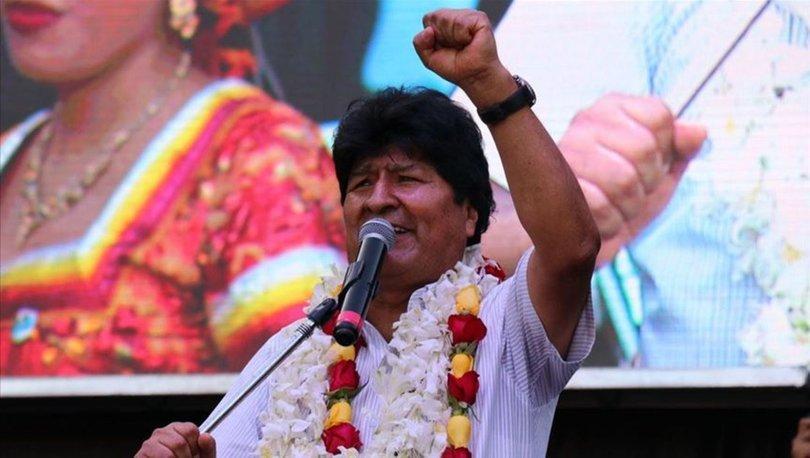 Morales: Halkın oyu ile geri döneceğiz