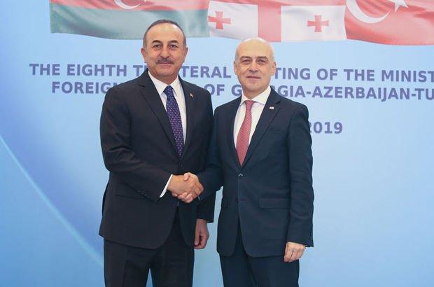Gürcistan Dışişleri Bakanı Zalkaliani'nden, Çavuşoğlu'na teşekkür
