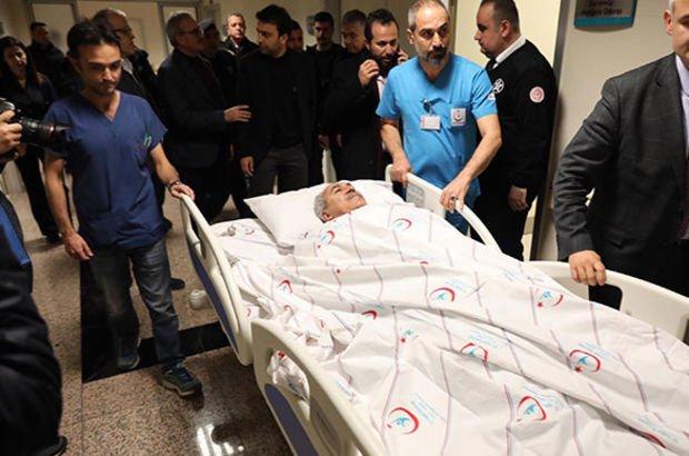 AK Parti Antalya Milletvekili ve eşi kaza geçirdi