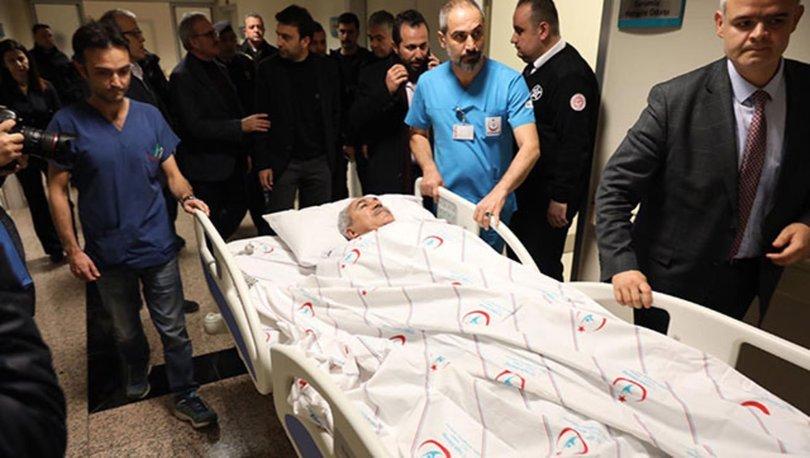 AK Parti Antalya Milletvekili İbrahim Aydın ve eşi kaza geçirdi