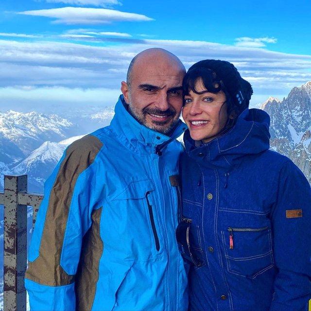 Berrak Tüzünataç sevgilisi Berk Suyabatmaz ile Fransa'da aşk tatilinde - Magazin haberleri