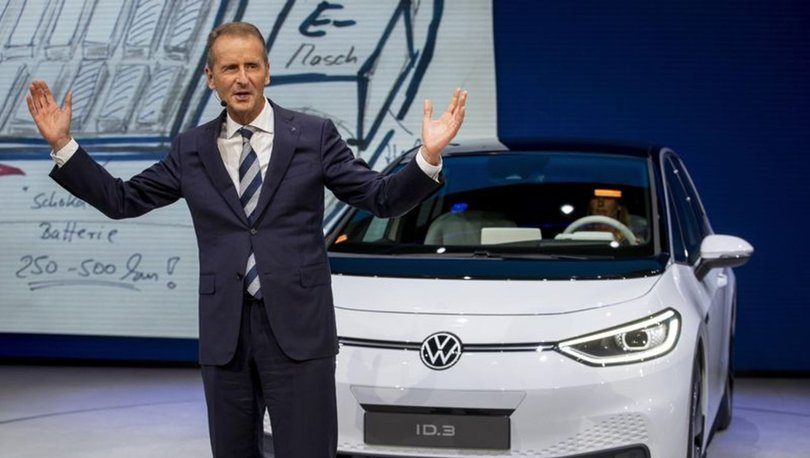 Volkswagen Group CEO'su Herbert Diess