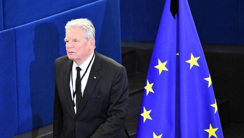 Eski Almanya Cumhurbaşkanı Gauck: