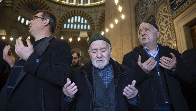 Edirne'de yağmur duası! Meteoroloji'den açıklama geldi
