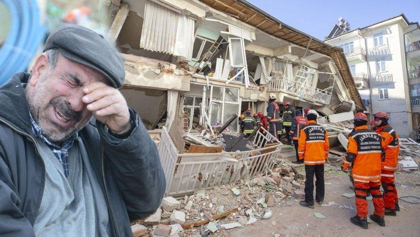 Elazığ'daki 6.8'lik depremden ilk fotoğraflar