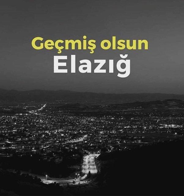 Geçmiş olsun Elazığ! Sosyal medyada Elazığ depremi mesajları