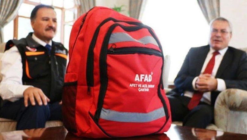 Deprem çantasında neler olmalı? AFAD'a göre deprem çantasında bulundurulması gerekenler
