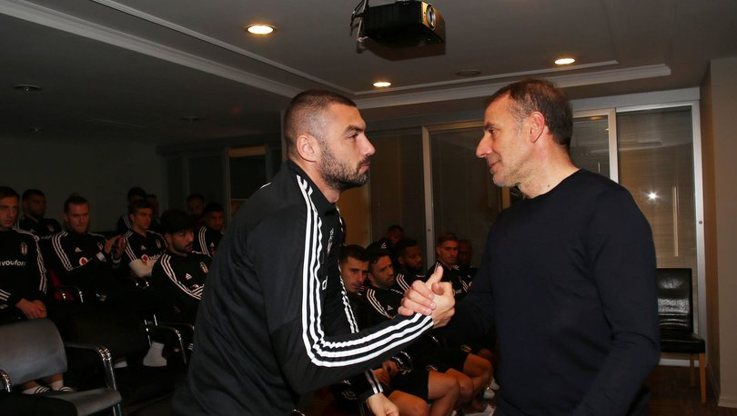 Abdullah Avcı, Beşiktaş futbolcularıyla vedalaştı