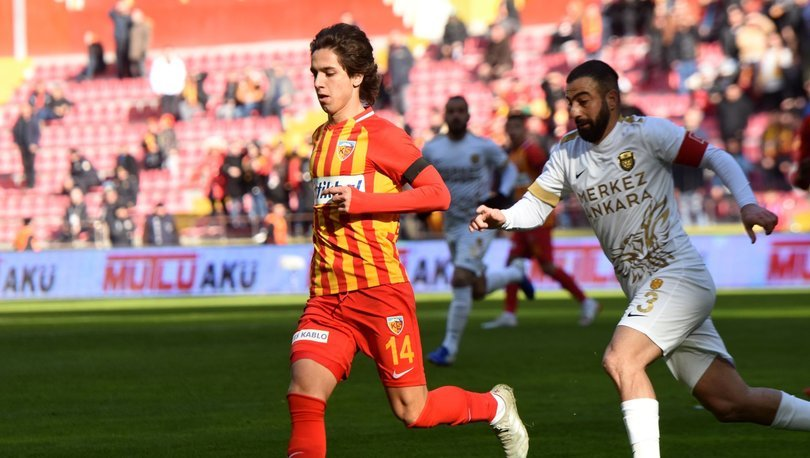 Kayserispor: 1 - Ankaragücü: 1 | MAÇ SONUCU