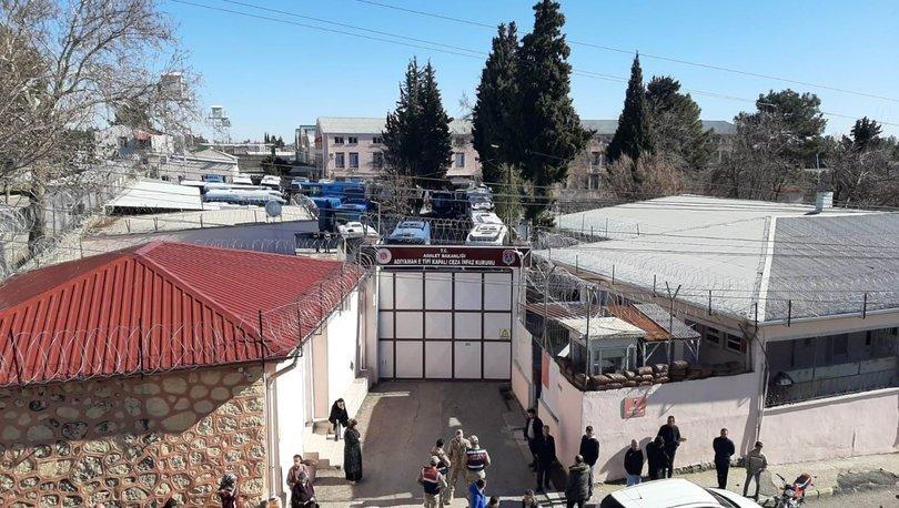 Adıyaman Cezaevi'nde hükümlüler nakledilmeye başlandı