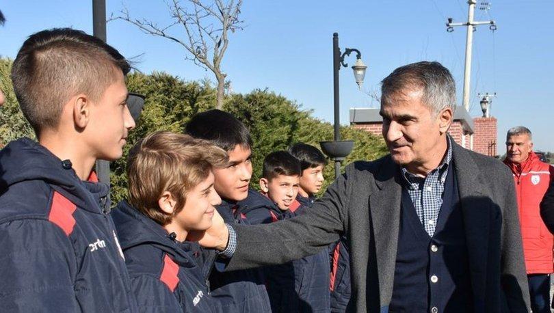 Şenol Güneş'ten genç futbolculara tavsiyeler