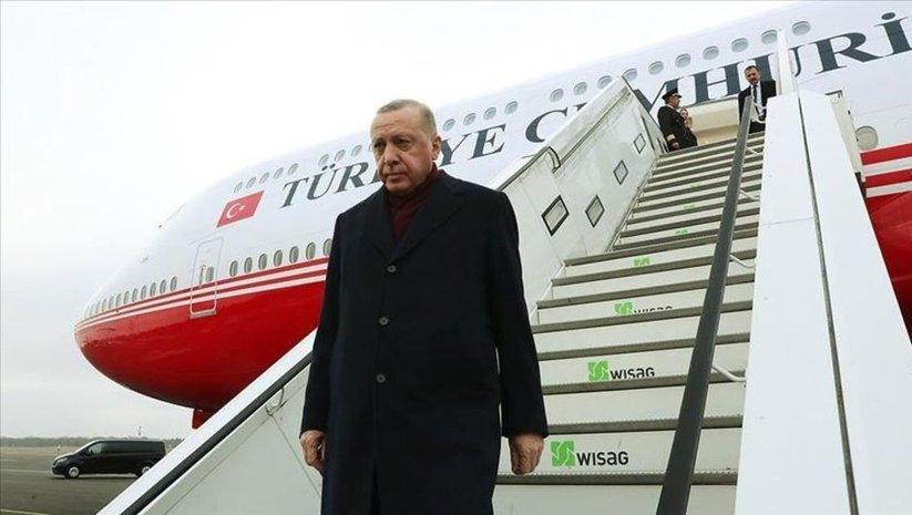 Cumhurbaşkanı Erdoğan Elazığ'da! Anne ve oğulun cenazesinde...