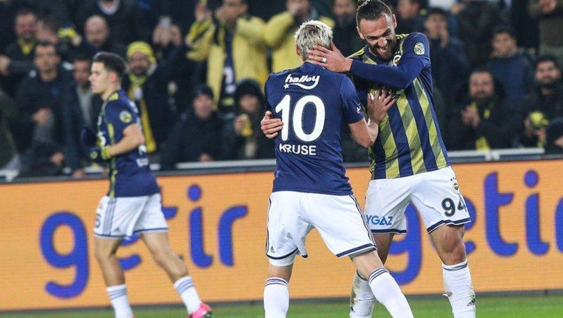 Fenerbahçe: 2 - Başakşehir: 0 | MAÇ SONUCU - MAÇ ÖZETİ