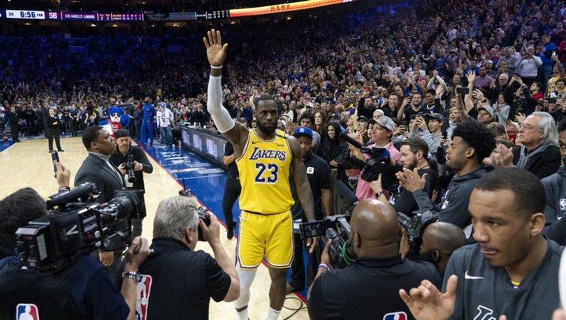 LeBron James, Kobe'yi geride bıraktı!
