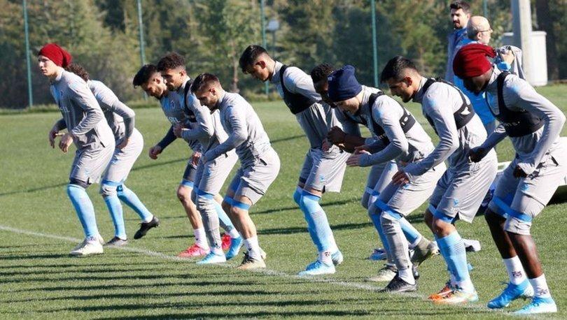 Trabzonspor, Fenerbahçe maçı hazırlıklarına başladı