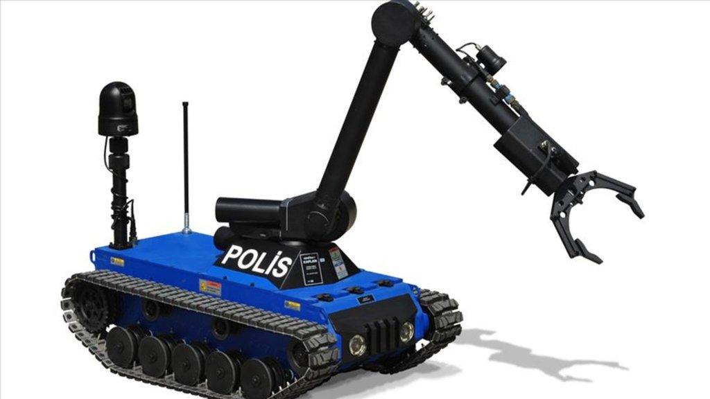 ASELSAN'dan jandarmaya bomba imha robotu