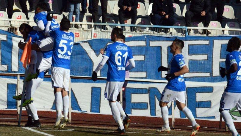 BB Erzurumspor: 1 - Balıkesirspor: 0