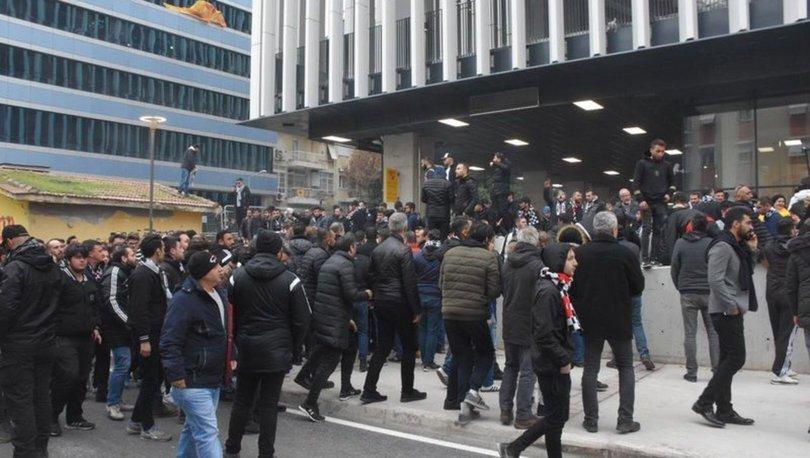Göztepe - Beşiktaş maçı öncesi gerginlik