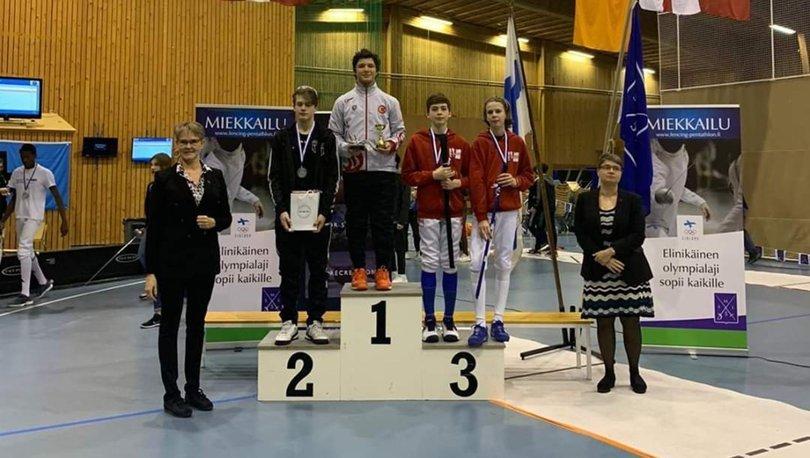 Cengizhan Öner, Finlandiya'da şampiyon oldu