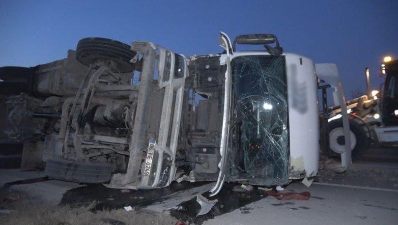 Ankara-Samsun karayolunda trafik kazası