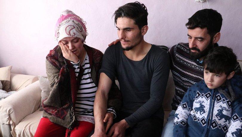 Suriyeli genç, enkazdan kurtardığı çiftle bir araya geldi!