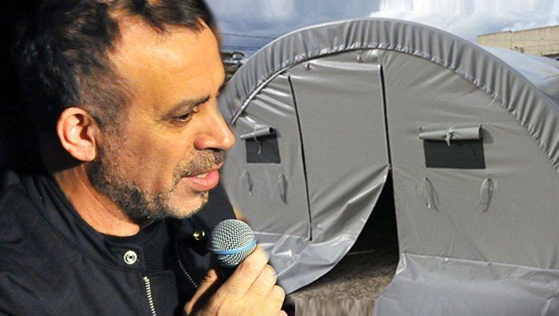 Haluk Levent: 160 çadırdan 500 kişi yararlanacak -