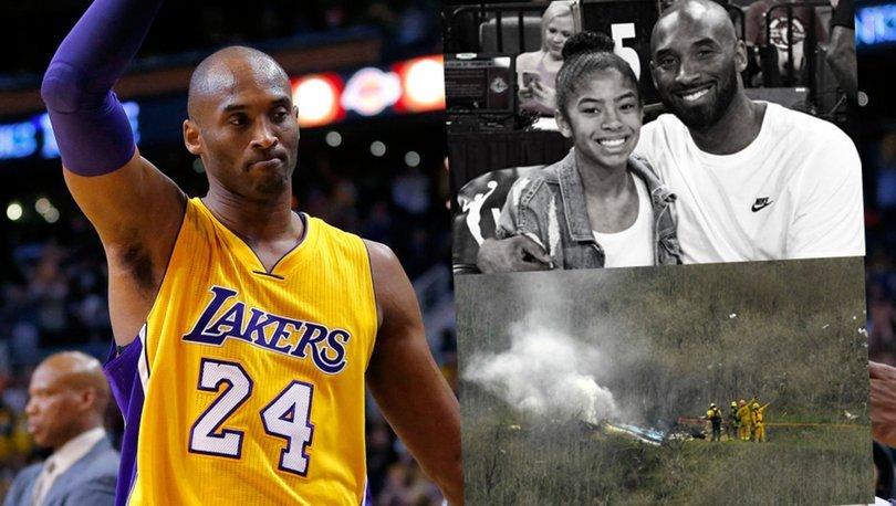 SON DAKİKA! Kobe Bryant ve 13 yaşındaki kızı Gianna Bryant helikopter kazasında hayatını kaybetti