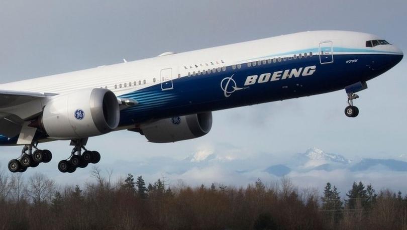 Boeing 777X: Dünyanın en büyük iki motorlu uçağı ilk test uçuşunu tamamladı