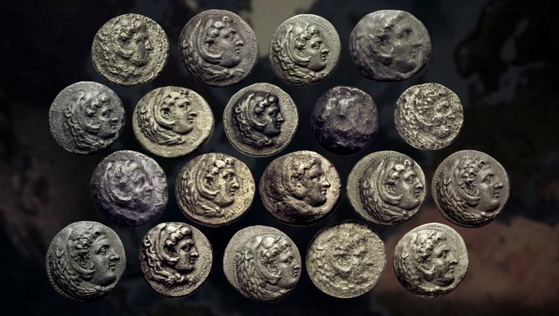 Hazine Avcıları: Büyük İskender'in kayıp sikkeleri
