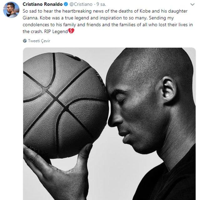 Black Mamba Kobe Bryant'ın ölümü yasa boğdu