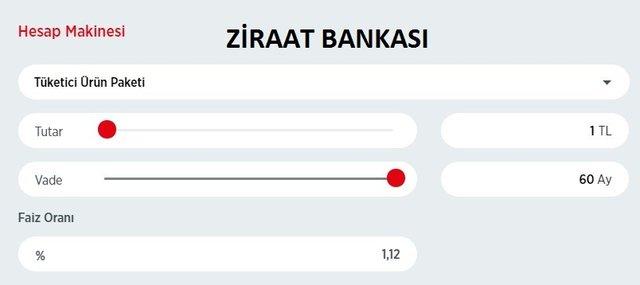 Kredi faiz oranları Garanti! Ziraat, Vakıfbank, Halkbank faiz oranları ne kadar? 2020 tüm bankalar