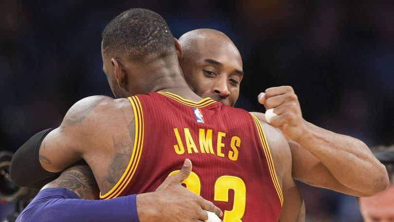 Kobe Bryant'ın son tweeti LeBron James için oldu!