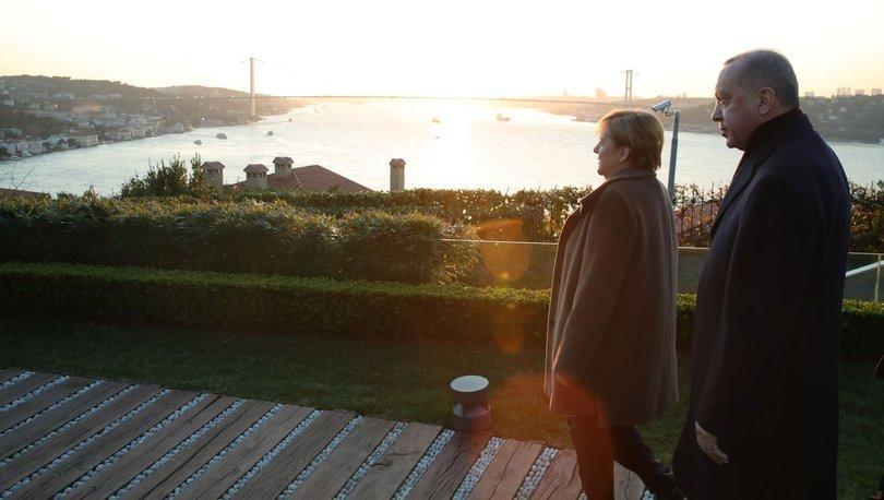 Merkel'den İstanbul'a veda: Allahaısmarladık