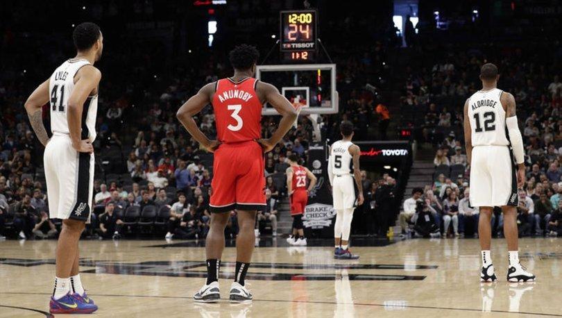 NBA'de Kobe Bryant tarihe geçen saygı duruşu!