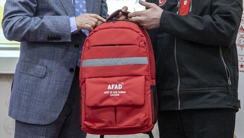 Deprem çantasında neler olmalı? AFAD deprem çantasında bulundurulması gerekenler