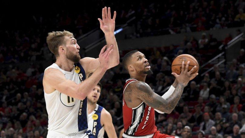 NBA'de Trail Blazers'ı galibiyete, 50 sayı atan Lillard taşıdı