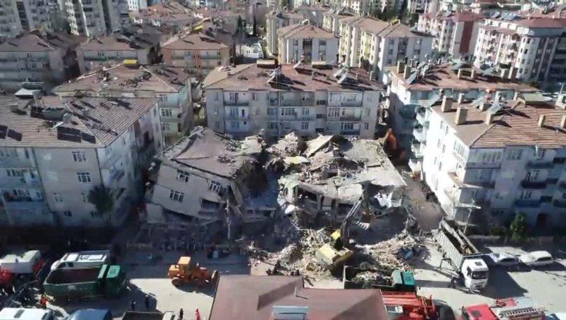 Son dakika Dilek Apartmanı yıkıldı! Kontrollü biçimde o apartman yıkıldı!