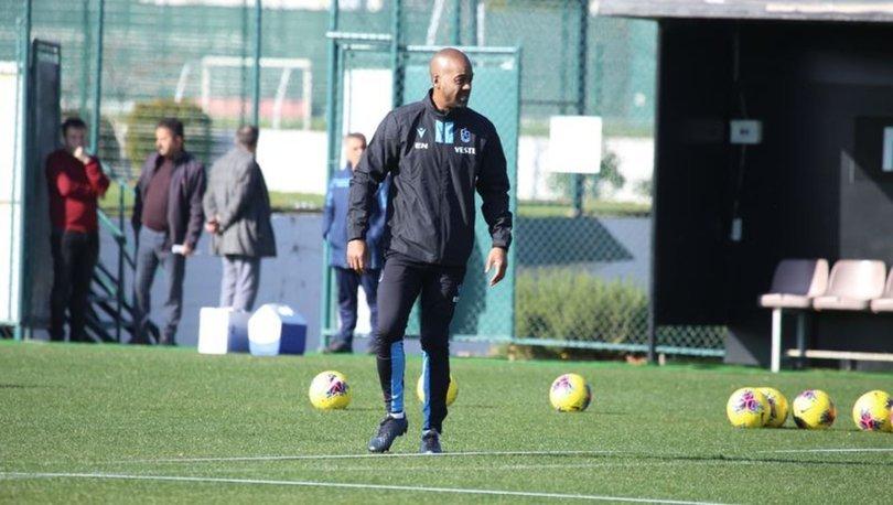 Trabzonspor'da Newton antrenmana çıktı