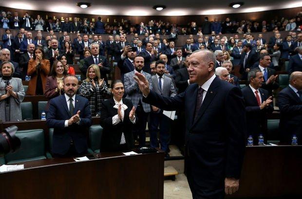 Cumhurbaşkanı Erdoğan vekillerle görüşecek