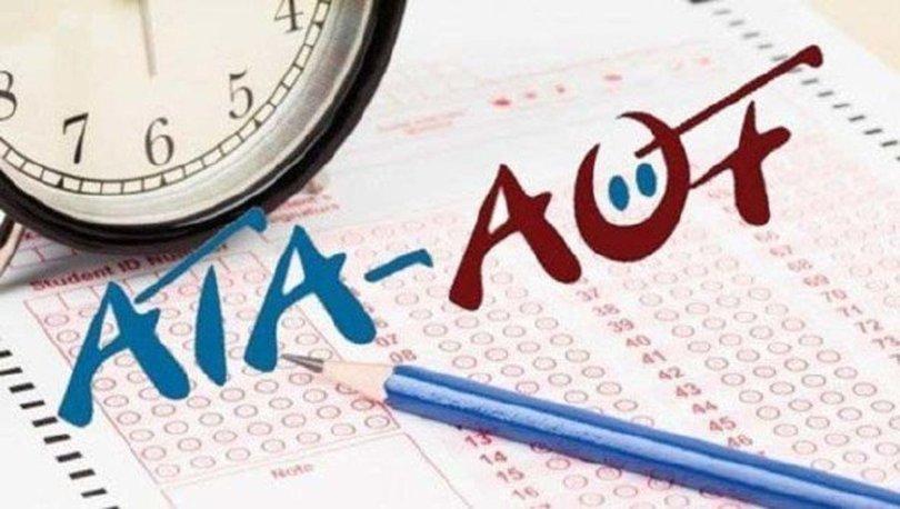 ATA AÖF sınav giriş belgesi yayımlandı! 2020 ATA AÖF sınav yerleri sorgulama