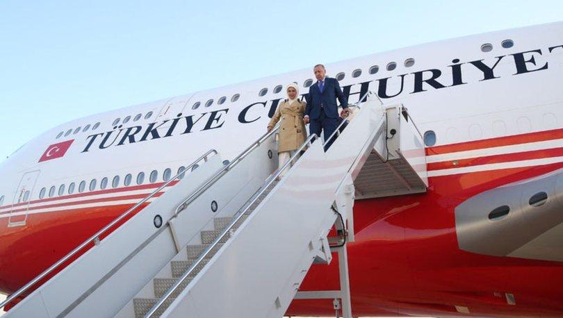 Cumhurbaşkanı Erdoğan Gambiya'ya geldi