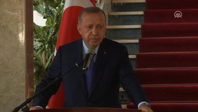 Cumhurbaşkanı Erdoğan'dan Gambiya'da açıklamalar