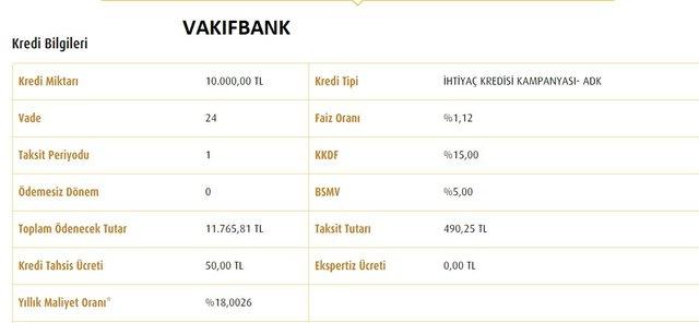 Kredi faiz oranları hesaplama! Ziraat, Vakıfbank, Halkbank faiz oranları düştü mü? 2020 tüm bankalar